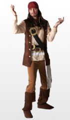 Jack Sparrow Pirate Costume (68054)